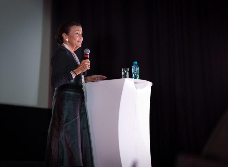Marina Sturdza Princess portrait of her speech in Cluj