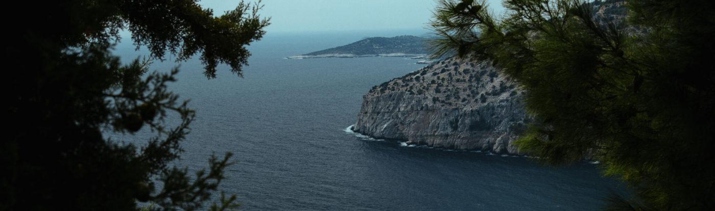landscape from greece
